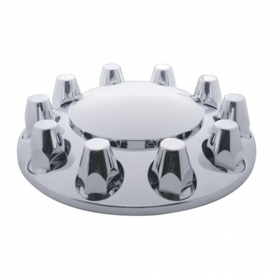 Economy 33 mm Thread-On Dome Front Axle Cover Set