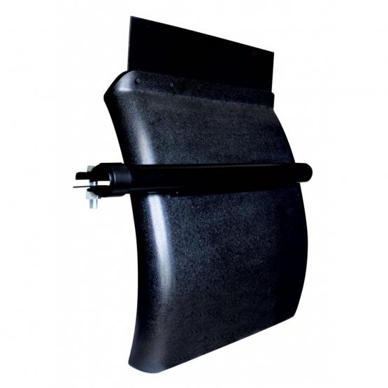 24″ x 24″ Black Poly Quarter Fender
