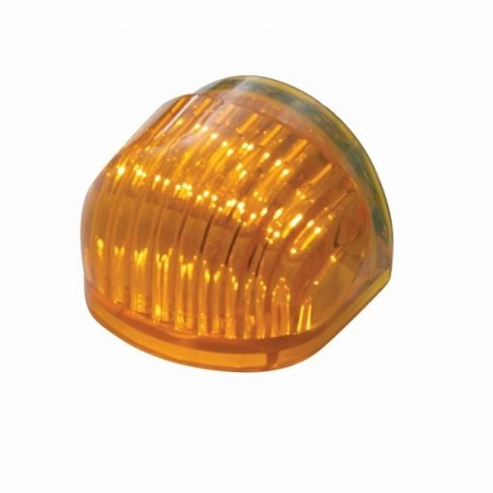 "5 LED Dual Function ""GUIDE"" Headlight Signal – Amber LED/Amber Lens"