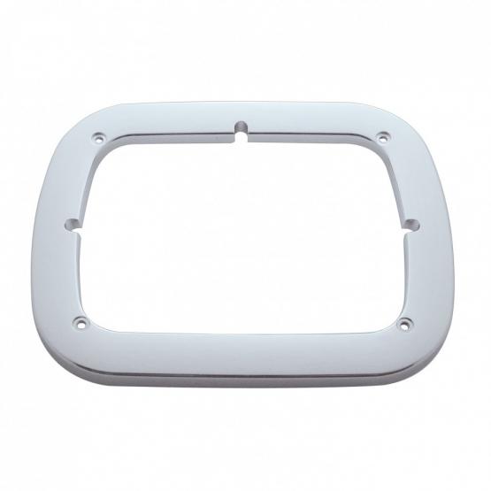 Chrome Single 6″ x 8″ Headlight Bezel